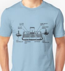 atari set up instructions T-Shirt
