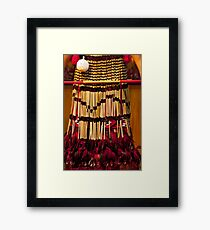 Haka Skirt Framed Print