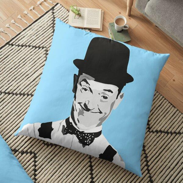 STAN LAUREL - smile Floor Pillow