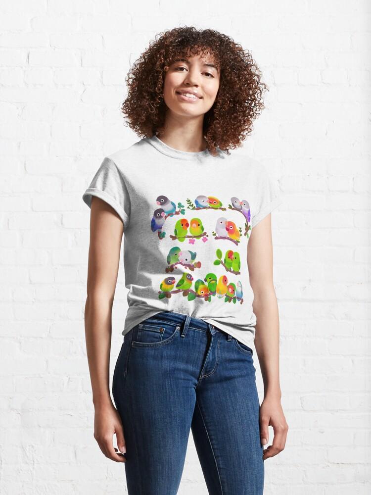 Alternate view of Lovebird Classic T-Shirt