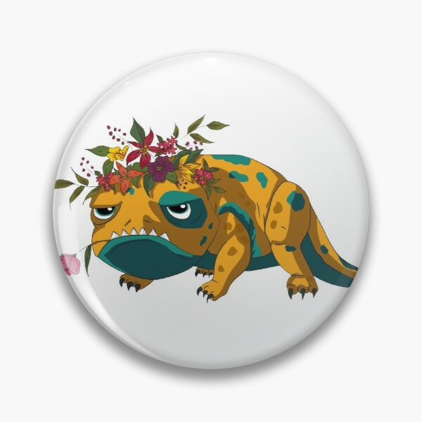 Flower-Crowned Bait - The Dragon Prince Pin