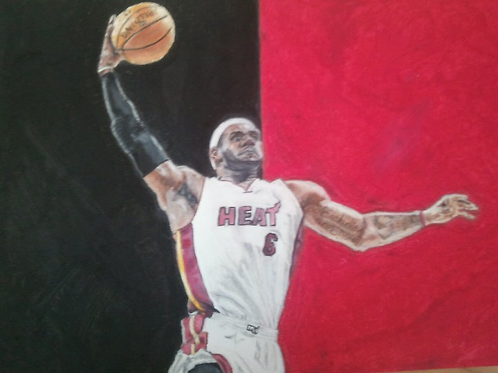 LeBron James by sjhorner