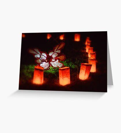 Butterfly Illuminare Greeting Card