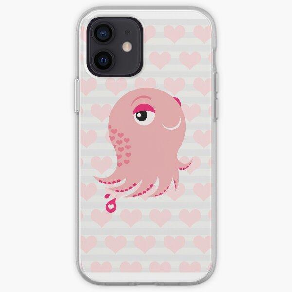 Squid of Love (Valentine's Edition) iPhone Soft Case