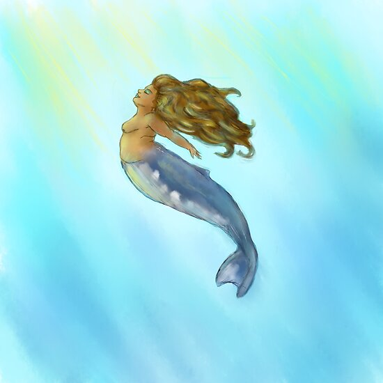 Humpback Mermaid by islawood