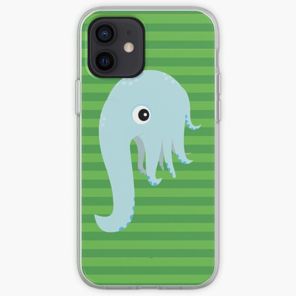Elephant Squid iPhone Soft Case