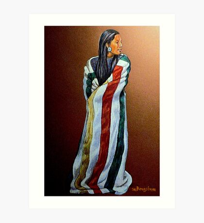 Wrapped In Tradition #8 Art Print