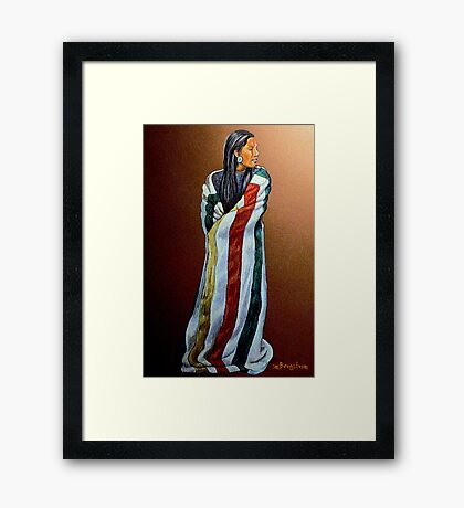 Wrapped In Tradition #8 Framed Print