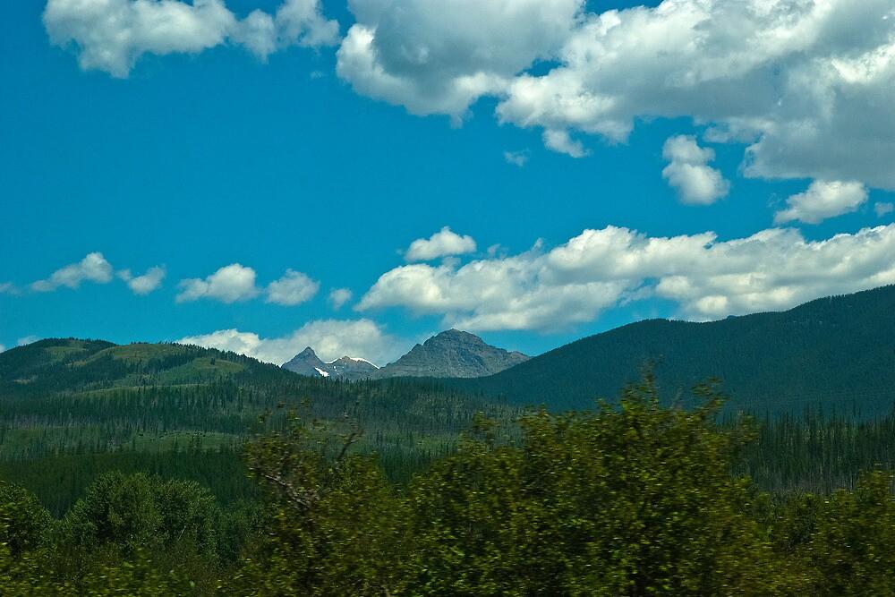 Glacier National Park, Montana, USA by Bryan D. Spellman