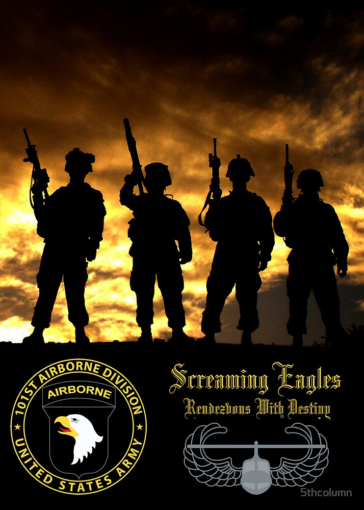 101st Airborne Poster by 5thcolumn
