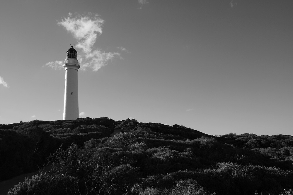 Split Point Lighthouse 3 by Lauren Eagle