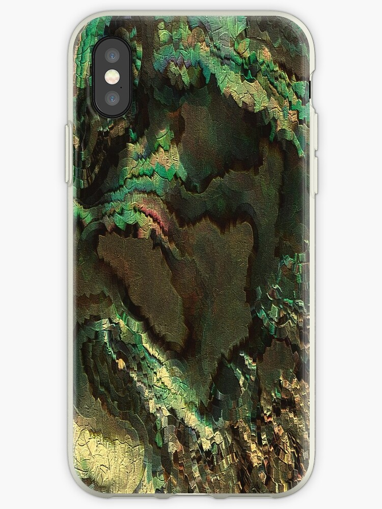Primordial life by rafi talby  iPhone & iPod Cases by RAFI TALBY