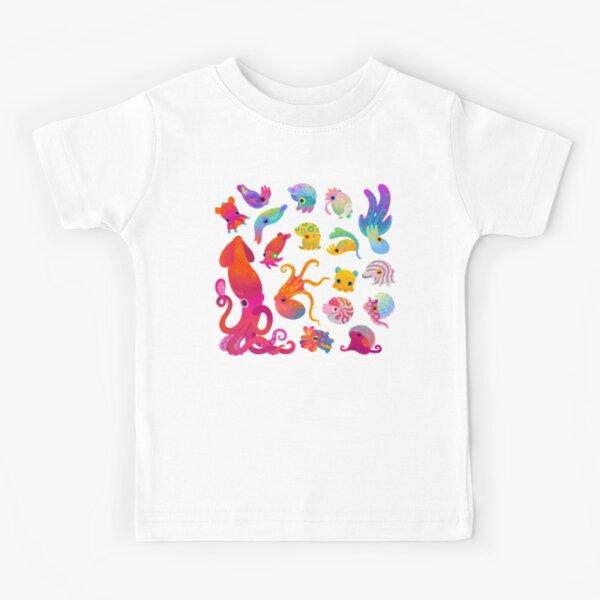 Cephalopod - pastel Kids T-Shirt