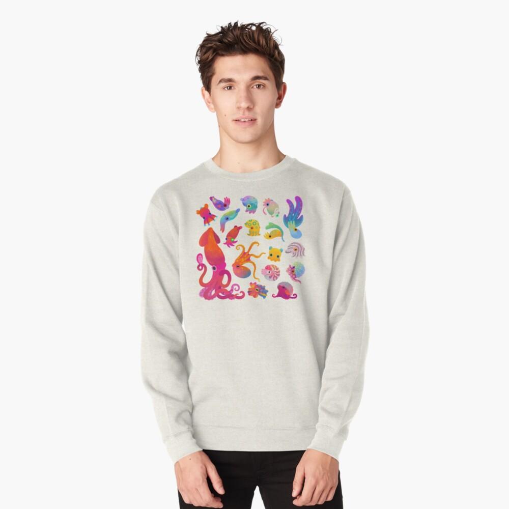 Cephalopod - pastel Pullover Sweatshirt