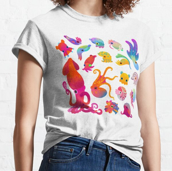 Cephalopod - pastel Classic T-Shirt