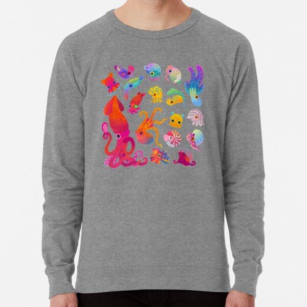 Cephalopod - pastel Lightweight Sweatshirt