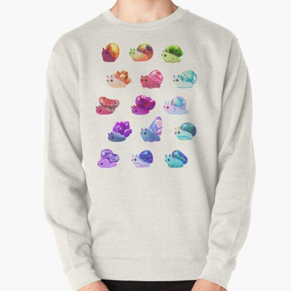 Jewel Snail Pullover Sweatshirt