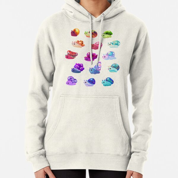 Jewel Snail Pullover Hoodie
