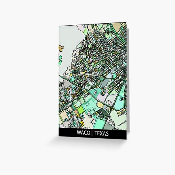 Waco, TX Greeting Card