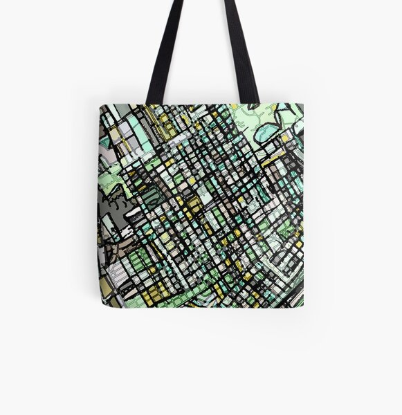Waco, TX All Over Print Tote Bag