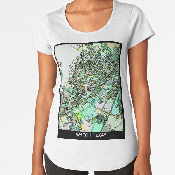 Waco, TX Premium Scoop T-Shirt
