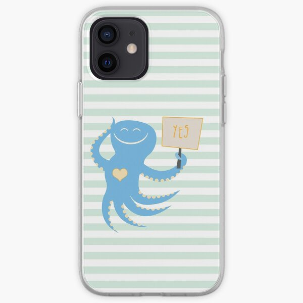 Squid of Yes iPhone Soft Case