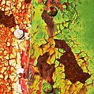 Box Car Grunge III by Lisa Putman