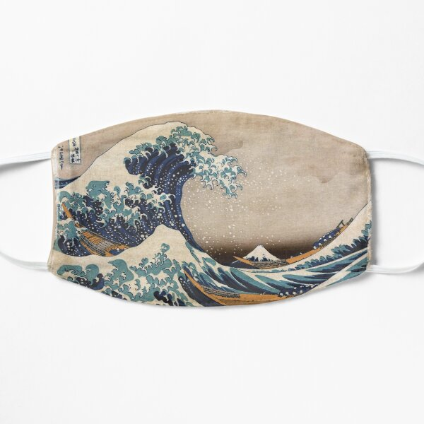 The Great Wave off Kanagawa Mask
