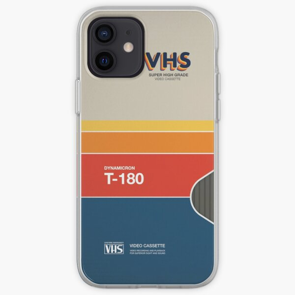 VHS Videokassette Hülle Retro iPhone Flexible Hülle