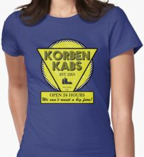 Korben Kabs Womens Fitted T-Shirt