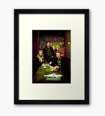 Fringe Division Framed Print