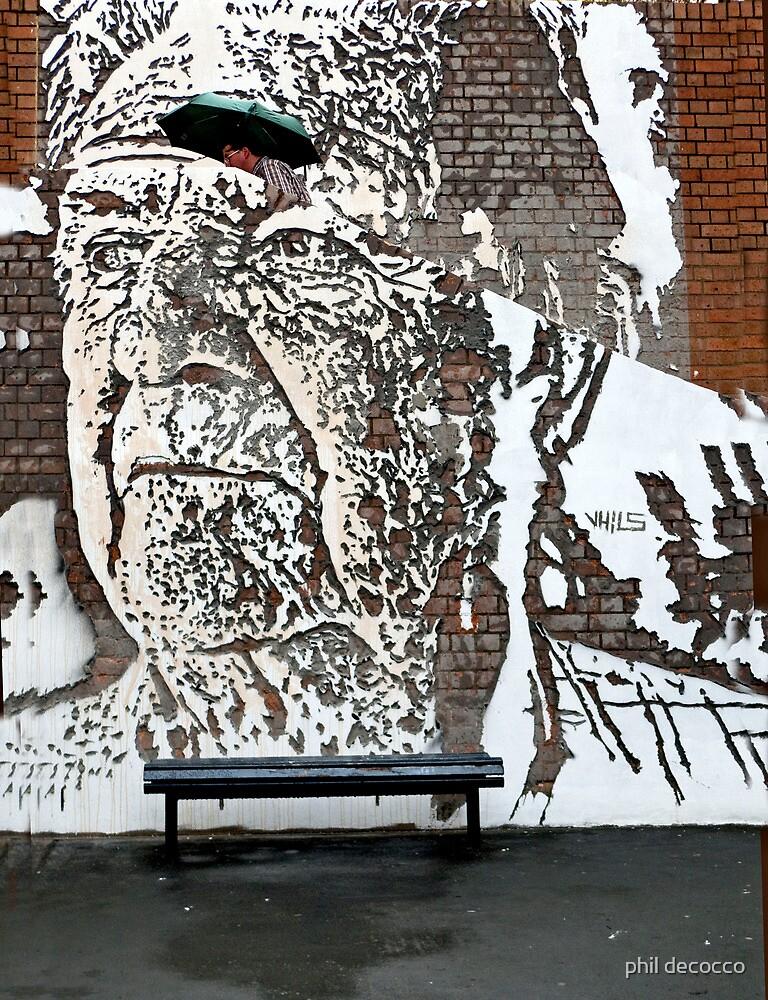 Graffiti Art Of VHILS by phil decocco
