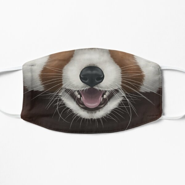 Red Panda Face Mask