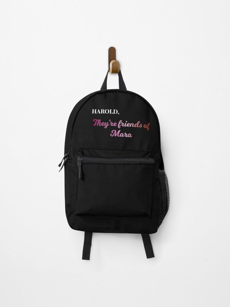 Backpacks-hen Farewell hurrah