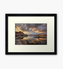 Granite Monsoon Framed Print