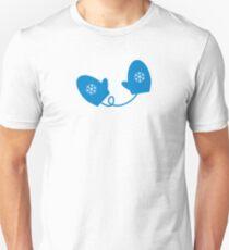 Blue Mittens Unisex T-Shirt