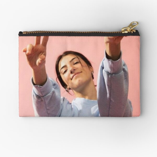 Charlie Pink Aesthetic Zipper Pouch