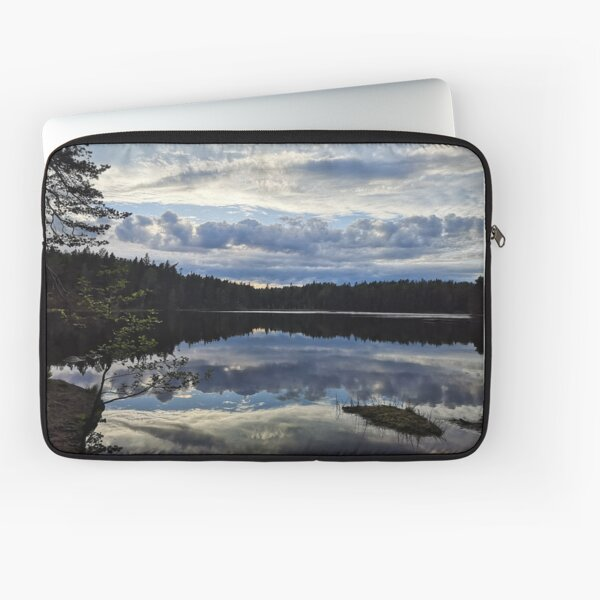 Reflections on a lake Laptop Sleeve