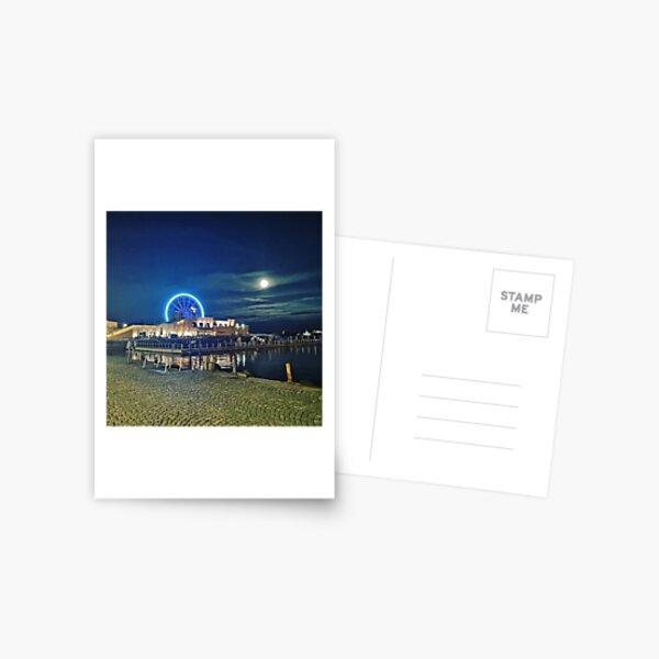 Helsinki by night Postcard