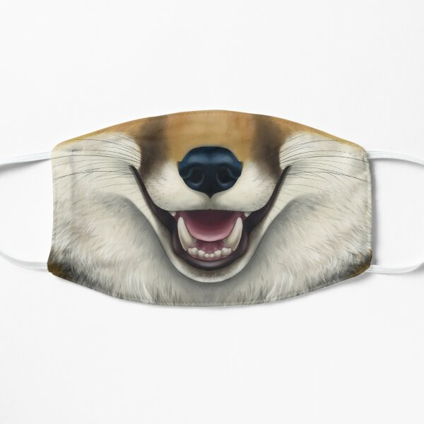 Red Fox Face - Lighter color Mask