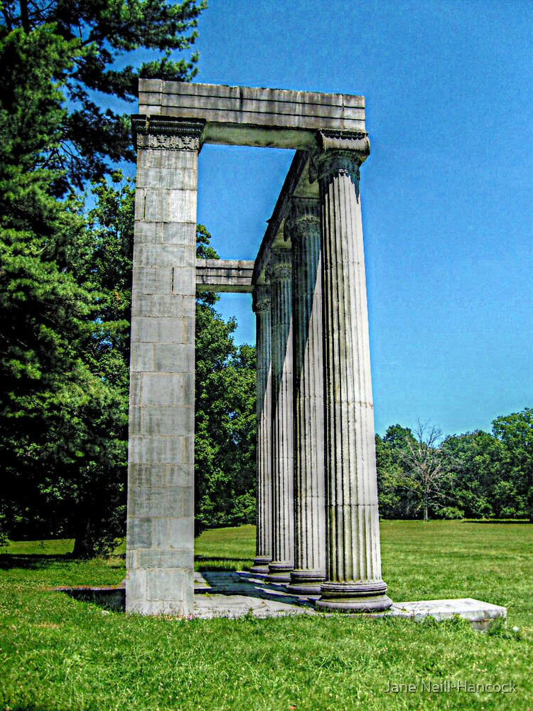 The Colonnade At Princeton Battlefield by Jane Neill-Hancock