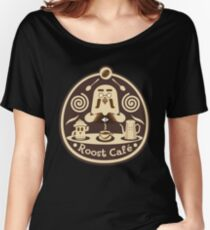Roost Cafe Women's Relaxed Fit T-Shirt