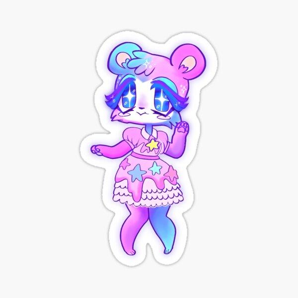 Judy Animal Crossing Fan Art Sticker