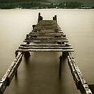 Jetty at Fort William by Sue Fallon Photography