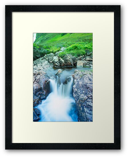 Waterfall - Near Ullapool by Sue Fallon Photography