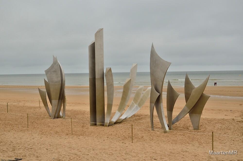 Memorial on Omaha Beach by MaartenMR