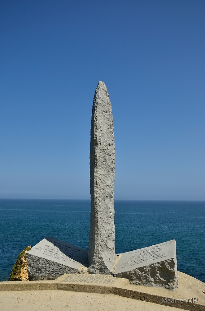 Memorial Pointe Du Hoc by MaartenMR