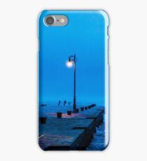 windy afternoon at the pier iPhone Case/Skin