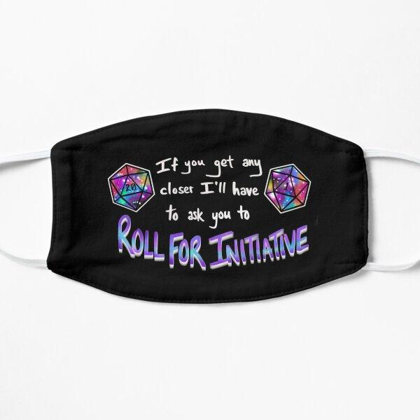 Roll for Initiative - Rainbow Flat Mask