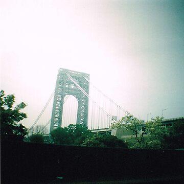 George Washington Bridge by meadythebrave
